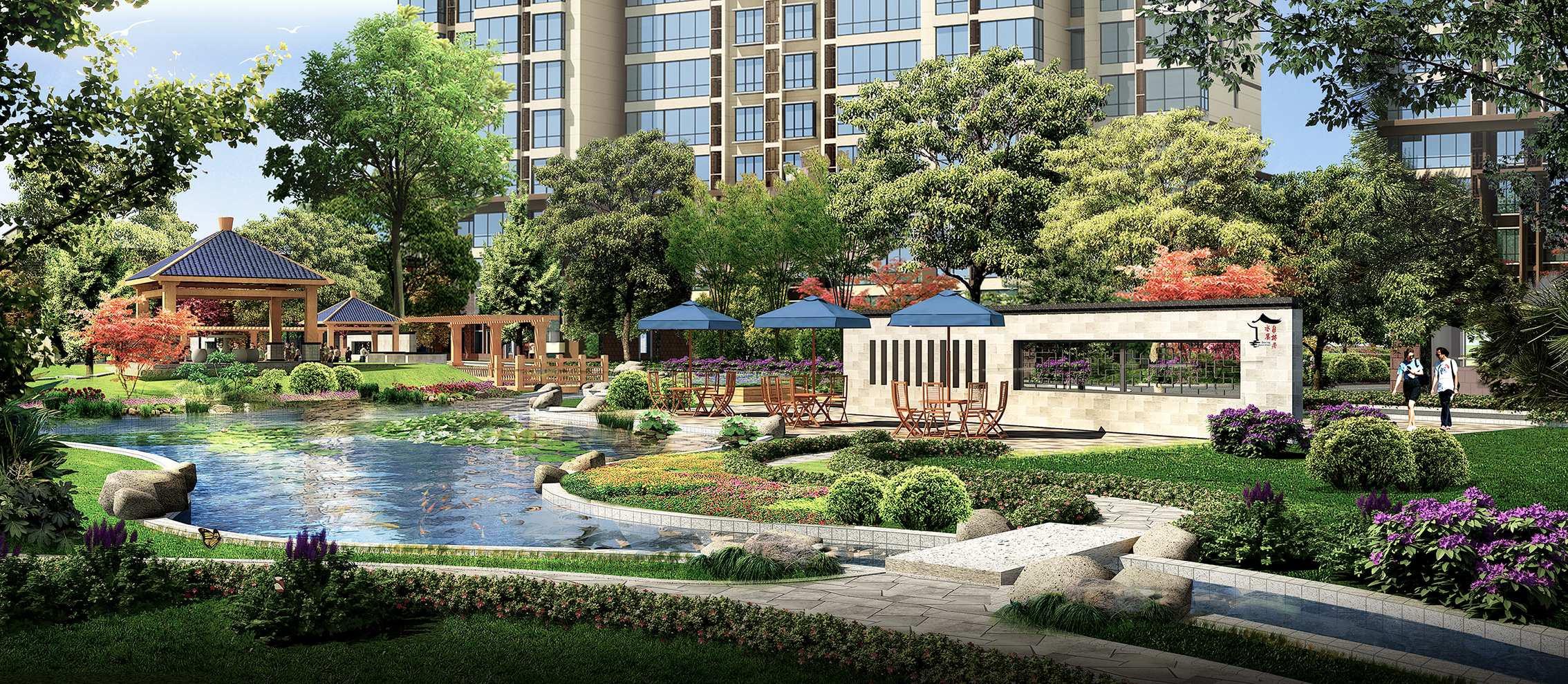 新中式园林景观平面图分享展示