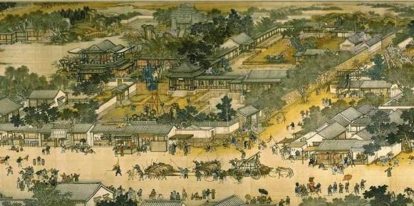 清明上河图 一张图里看宋城