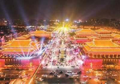 民俗范儿加国际范儿西安年味吸引全球游客