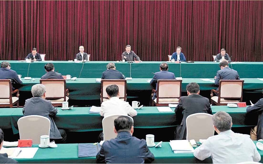 习近平在江西主持召开推动中部地区崛起工作座谈会并发表重要讲话