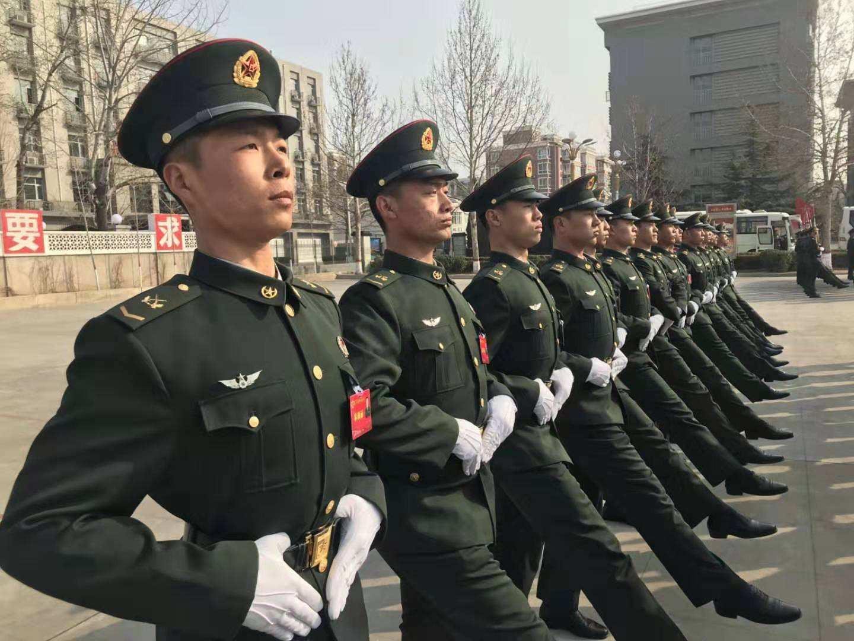 一次受阅终身荣耀———定州籍战士牟远参加新中国成立70周年阅兵载誉归来