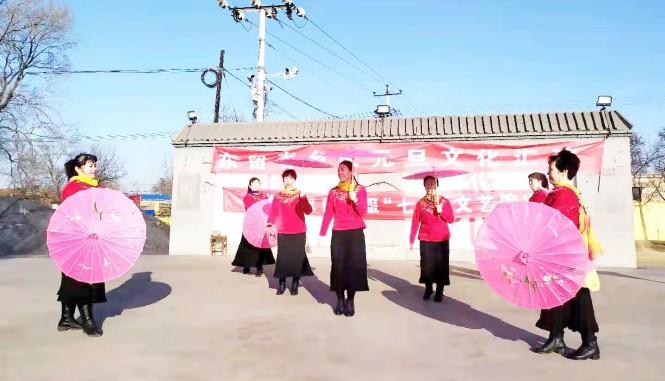 东留春乡组织举行庆元旦文艺汇演