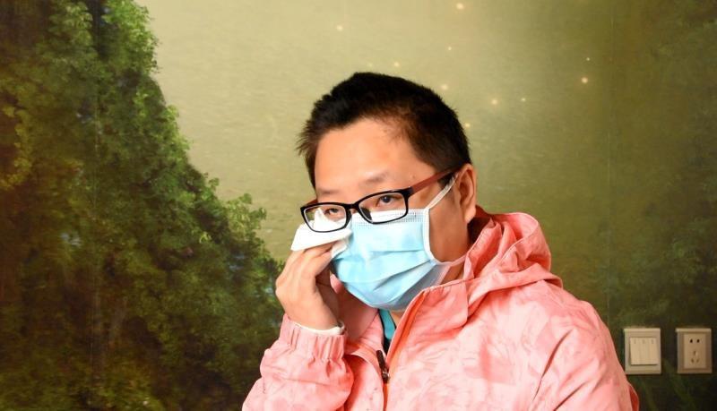 """市人民医院支援湖北医护人员郑月欢 """"报告祖国,我圆满完成了任务!"""""""