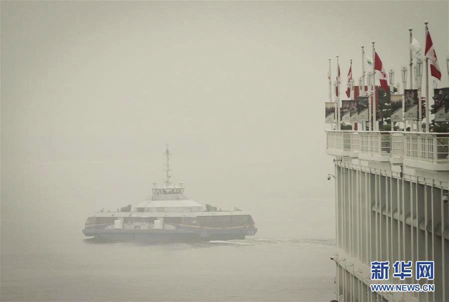 温哥华空气污染持续
