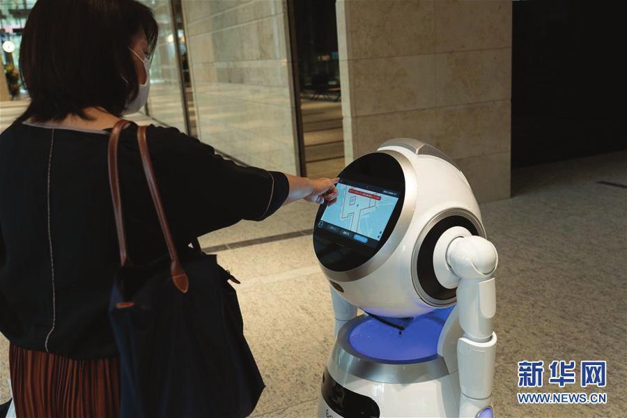 日本东京:机器人实测进行中