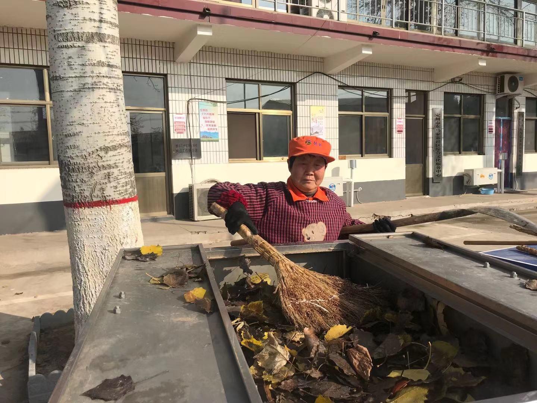 杨家庄乡东马家寨村保洁员白翠平 平凡岗位上的别样坚守