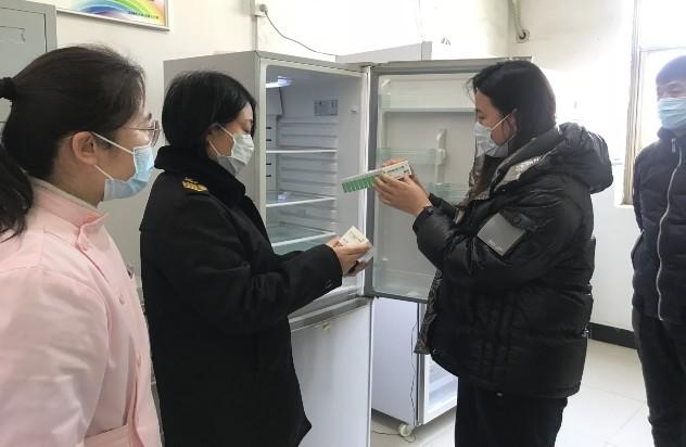 市场监督管理局对新型冠状病毒灭活疫苗质量、贮存运输状况进行了检查
