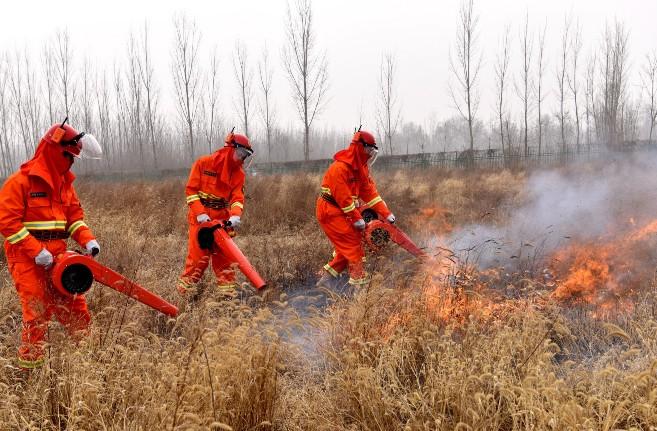 市自然资源和规划局及应急管理局组织开展2021年春季森林防火模拟演练