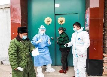 市中医医院支援藁城医护人员和霜霜 我还年轻,只要有需要,我还去