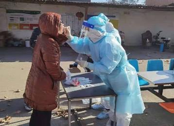 市中医医院支援藁城医护人员高子茵 支援藁城是我的一次重要成长经历