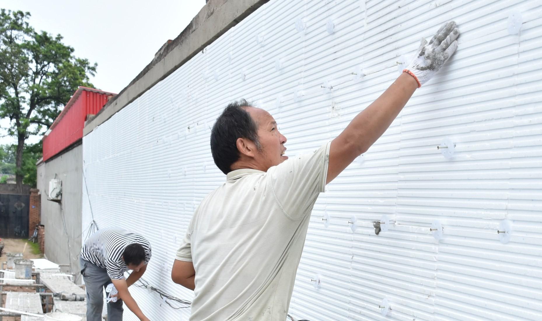 定州市住房和城乡建设局深入实施农村住房节能改造项目